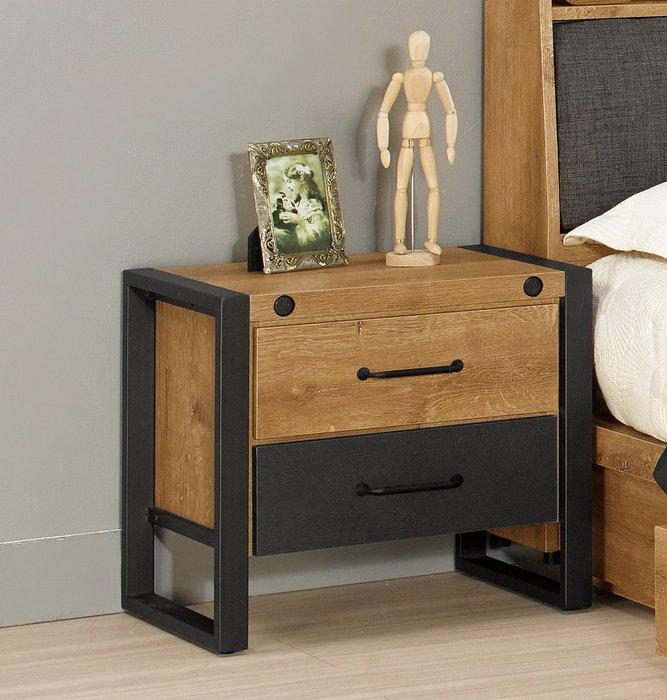 布朗克斯床頭櫃😊暖暖屋傢俱傢飾😊
