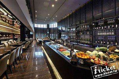 台南桂田酒店阿力海百匯自助餐吃到飽假日午晚餐券