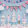 *蕾絲公主*現折200方案*歐式時尚高腳玻璃糖果罐三件套組出租~婚禮佈置、夢幻candy bar、主題週歲生日
