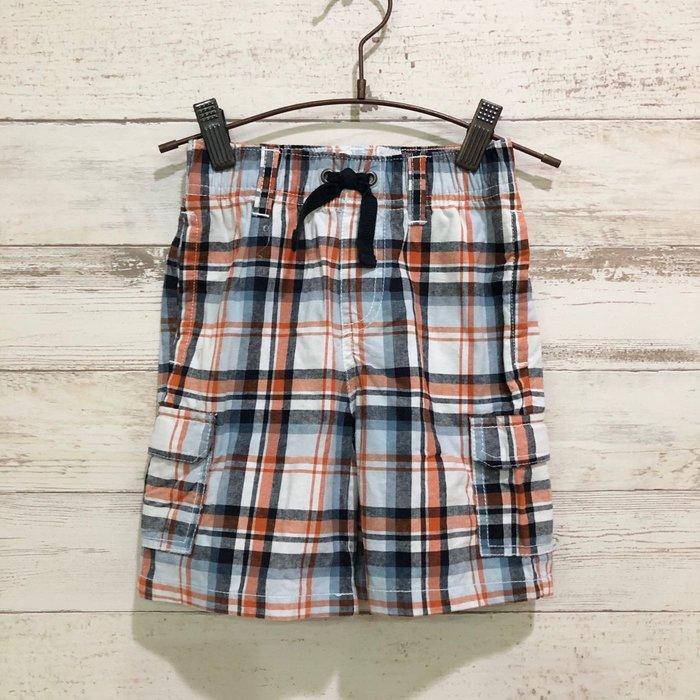 Maple麋鹿小舖 美國購買童裝品牌 GYMBOREE 男童格紋款短褲 * ( 現貨2T )