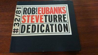 ROBIN EUBANKS,STEVE TURRE /Dedication winter&winter德國發燒爵士錄音廠絕版JMT經典爵士錄音罕見盤