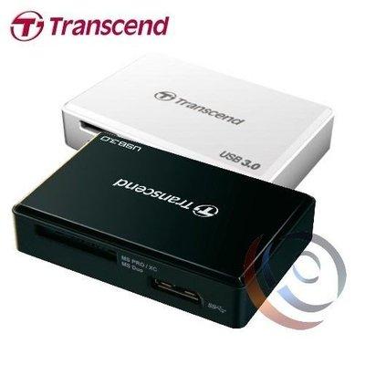 「Sorry」Transcend 創見 RDF8 USB3.0多功能記憶卡讀卡機【黑】TS-RDF8K2