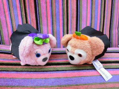 香港迪士尼萬聖節Duffy達菲&雪莉梅ShellieMayTSUMTSUM滋姆滋姆S號(現貨)