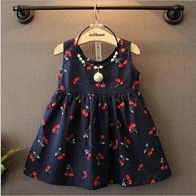 【Miss Caramel】女童夏季洋裝 女童短袖洋裝 兒童洋裝 兒童無袖洋裝 女童連身裙 現貨+預購