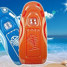 【Treewalker露遊】今夏最新魚骨彩繪大浮板 附手把 無毒安全 0.24mm厚平躺浮板全性浮排