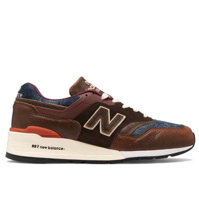 全新正品 NEW BALANCE 997【M997SOC】ELEVATED BASICS 美國製 丹寧咖啡現貨