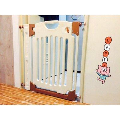 (現貨) Baby Gate 智慧型 活動式雙向開門 安全門欄寵物門欄 嬰兒門欄