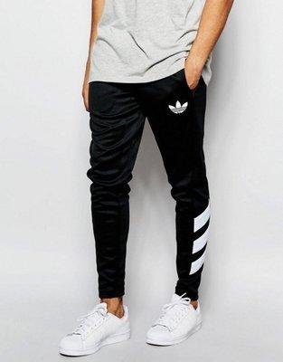 【Admonish】 adidas Originals Skinny Jogger 陳奕迅 長褲 黑色 小腿三間線