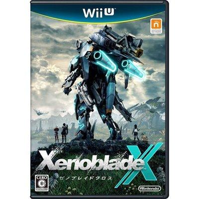 【二手遊戲】WiiU 異域神劍 X Xenoblade Chronicles X 日文版 (9成新)【台中恐龍電玩】