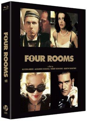 毛毛小舖--藍光BD 瘋狂終結者 Four Rooms 外紙盒版(中文字幕) 昆丁塔倫提諾