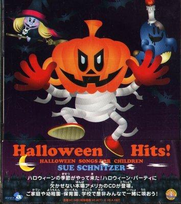 K - Halloween Hits Songs For Children SUE SCHNITZ - 日版+OBI