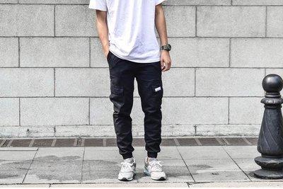 【特價商品】多口袋 束口工作褲  鬆緊腰  28-36腰 adidas AJ NB 可搭配