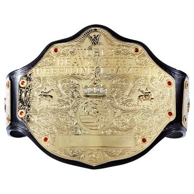 [美國瘋潮]正版WWE World Heavyweight Champion WHC大金色重量級冠軍擬真版腰帶 Edge
