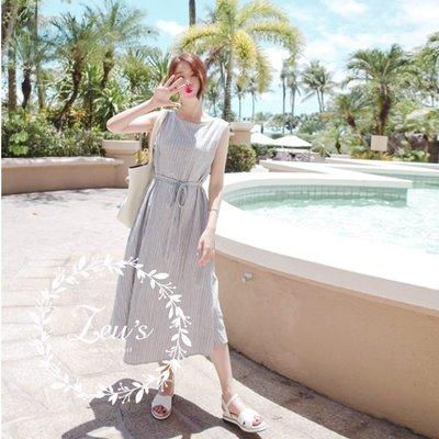 【ZEU'S】夏裝新款休閒度假無袖洋裝『 03419613 』【現+預】CC