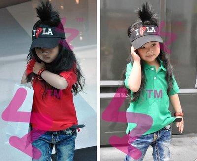 寶貝時尚配件屋 日本街頭風 FLAKE 兒童 空頂帽 遮陽帽 可當親子帽