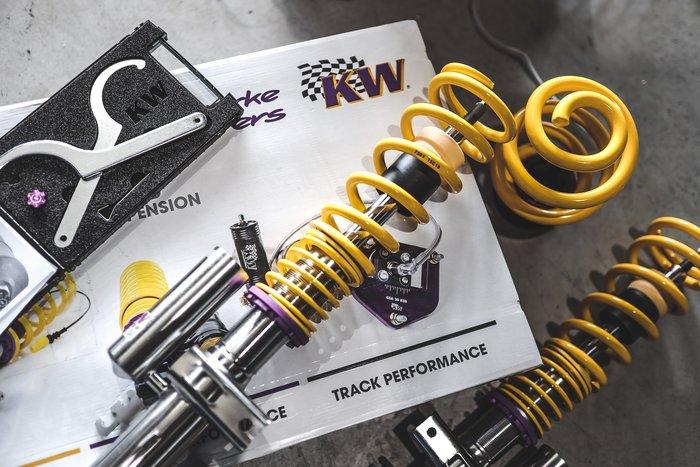 德朋國際 / Volkswagen T5專用 KW V3高低調整阻尼軟硬與縮側獨立調整