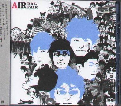 K - RAG FAIR - AIR - 日版 CD - NEW