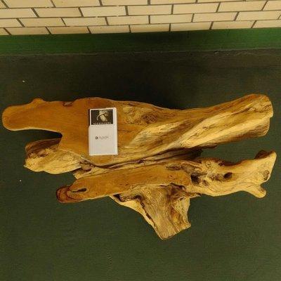 大型百年七里香奇木台座
