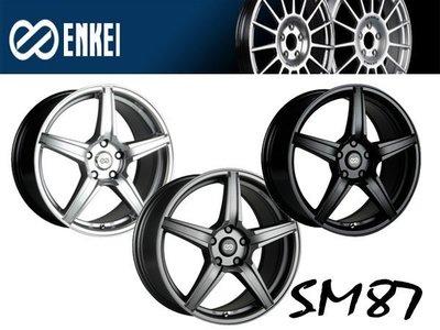 JD-MOTORS ENKEI SM87 18吋鑄造鋁圈 ENKEI新鋁圈 另售日本製造鋁圈RAYS TWS ADVA