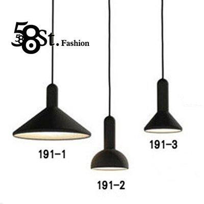 【58街】義大利設計師款式「手電筒吊燈」複刻版。GH-191