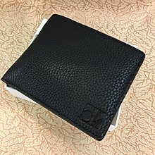 😍聖誕節精選😍Calvin Klein Men's Pebble Leather Wallet 黑色真皮銀包 Black