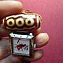 五眼老天珠掛錶 阿蟲 大吉千安掛錶  重 22.6gm  二手收藏