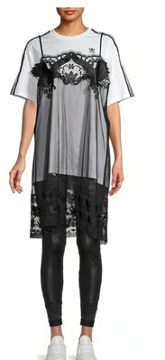 adidas Adidas x Dry Clean Only Lace Overlay T-Shirt