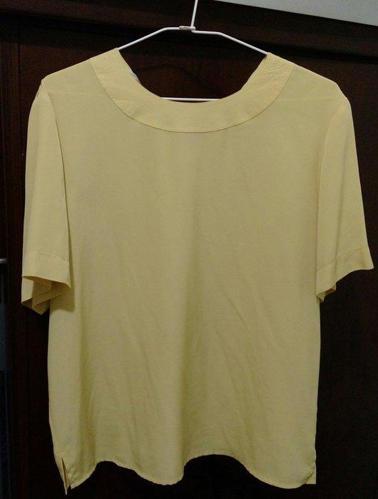 二手[Key wear奇威]進口布料短袖上衣