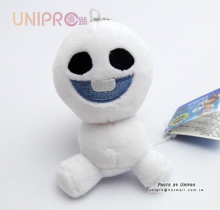 【UNIPRO】迪士尼 冰雪奇緣 FROZEN 二代雪寶 迷你雪寶 小雪寶 珠鍊娃娃 包包吊飾 正版授權 9cm