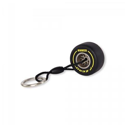 Pirelli倍耐力黃色軟胎鑰匙圈-特價@!
