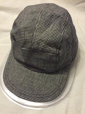 Agnes.b 藍色小方格紋 五分割帽 可調式 無大小分別 英國購入 桃園市