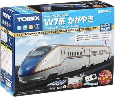【現貨不用等】 TOMIX 90168 ベーシックセットSD W7系かがやき 基本套裝組
