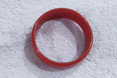 紅色壓克力手環