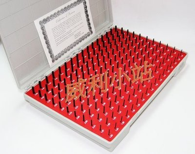 【威利小站】【美製】針規 (PIN GAUGE) 塞規 10.00mm~13.98mm (單或雙),精準度0.005mm~
