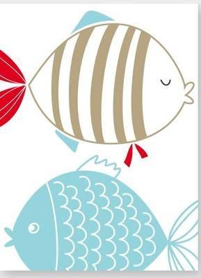 三幅一組油畫布  海洋動物 畫芯/畫布/30X40☺暖暖屋☺傢居藝術館