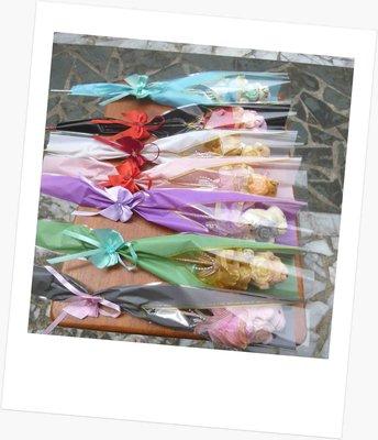 一包50個~單支花束包裝袋~三角花套印花opp袋~梯型印花袋~母親節結婚禮小物二次進場婚宴囍糖送客禮贈品聖誕節來店迎賓禮