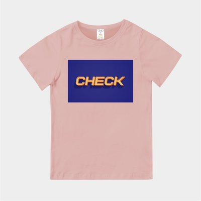 T365 MIT 親子裝 T恤 童裝 情侶裝 T-shirt 標語 話題 口號 標誌 美式風格 slogan CHECK