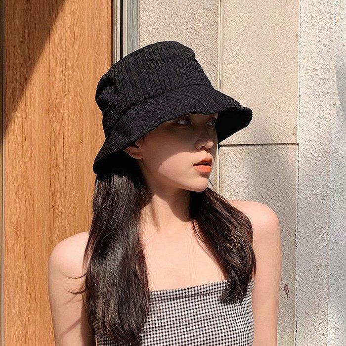 SB 休閒舒適透氣可折疊 全棉漁夫帽 遮陽帽 防曬帽 含收納袋