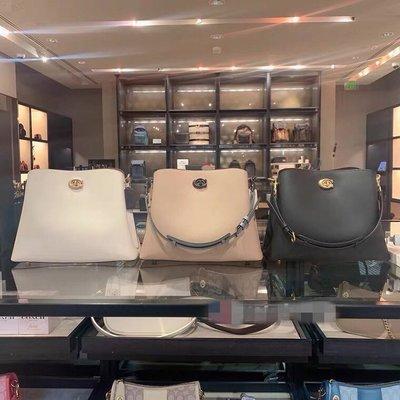 【全球精品代購鋪】COACH 2590 Willow牛皮水桶包 手提斜挎包 時尚女包 購美國代購Outlet專場 可團購