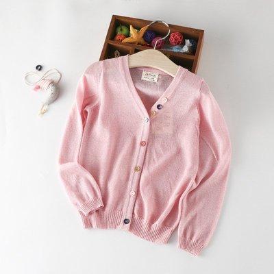 【Mr. Soar】A289 夏季新款 歐美style童裝女童超薄防曬外套 現貨