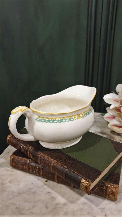 【卡卡頌 歐洲古董】英國老件 小黃花   醬料船   沙拉船  p1773