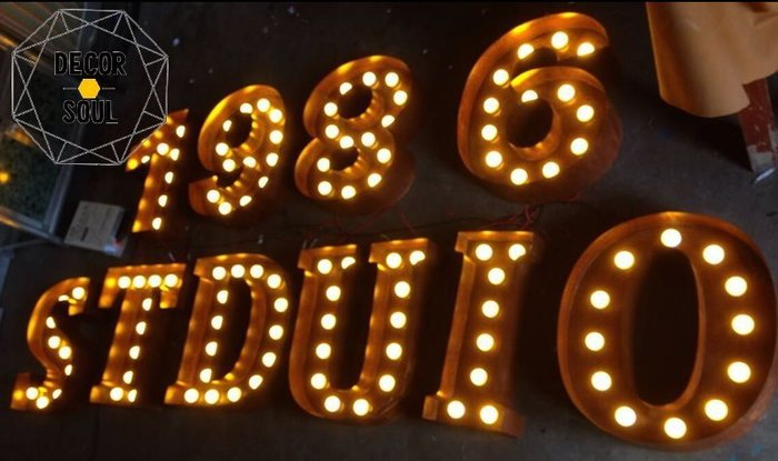 DS北歐家飾§ 營業用 金屬鏽鐵門 招牌 燈箱 鐵鏽 工業風LOFT創意客製訂製廣告規劃裝潢設計公司風格仿舊復古專業字母
