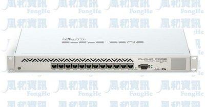 MikroTik CCR1016-12G 雲端核心路由器【風和網通】