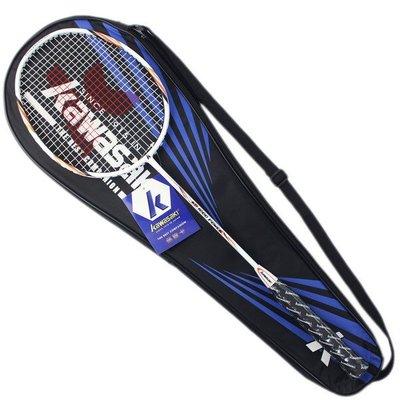 Kawasaki 川崎羽球拍 KB1000/一支入(定1000) 附背拍袋 有穿線 羽毛球拍 羽拍-群KBC0100