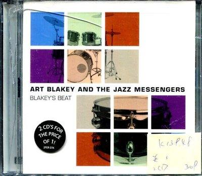 *真音樂* ART BLAKEY AND THE JAZZ MESSENGERS / BLAKEY'S BEAT 2CD 美版 全新 K13948 (殼破)