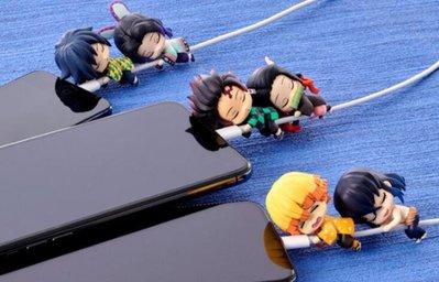 好物站點-Bandai萬代正版扭蛋玩具 鬼滅之刃 抱抱數據線系列 蝴蝶忍-花語小屋