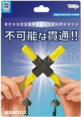 [808 MAGIC] 魔術道具 2020天洋 Tenyo 四次元 穿透 異次元 穿越