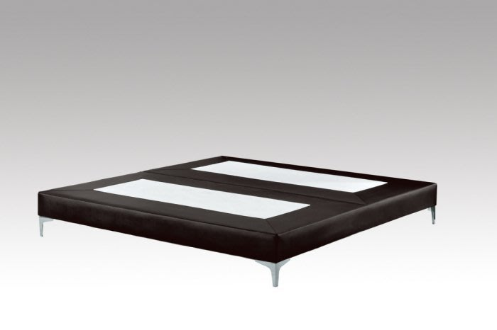 【DH】商品貨號G677-5商品名稱《格聯》5尺皮革黑色床底組/備有6尺/備有6尺加大~另計。台灣製可訂做主要地區免運費