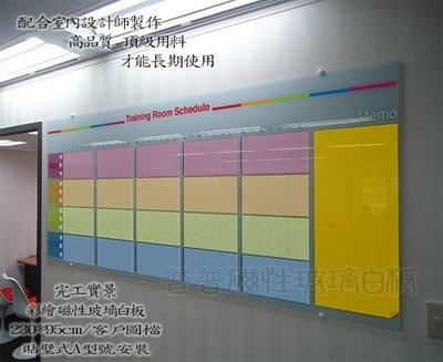 領先業界彩繪玻璃白板,客製化留言板,普普磁性玻璃白板,台中