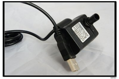 水龜 ~ USB 插頭 ~超小型 沉水 泵 3W .可接行動電源..太陽能板